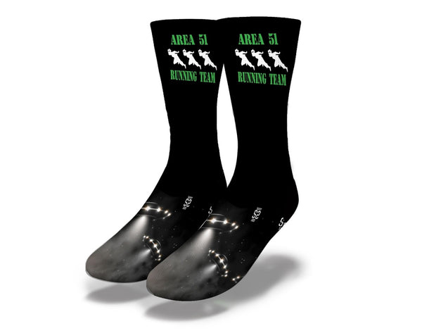 Area 51 Run socks