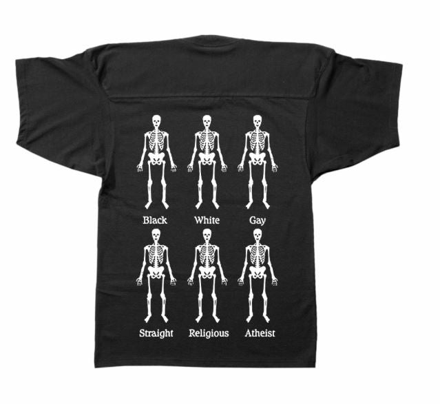 PLEASURES BONES JERSEY T-SHIRT