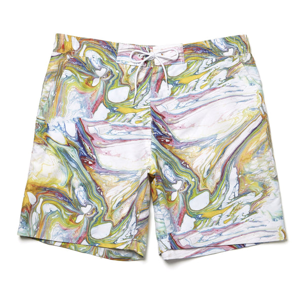 MARBLE TAILORED 35 SWIM SHORTS
