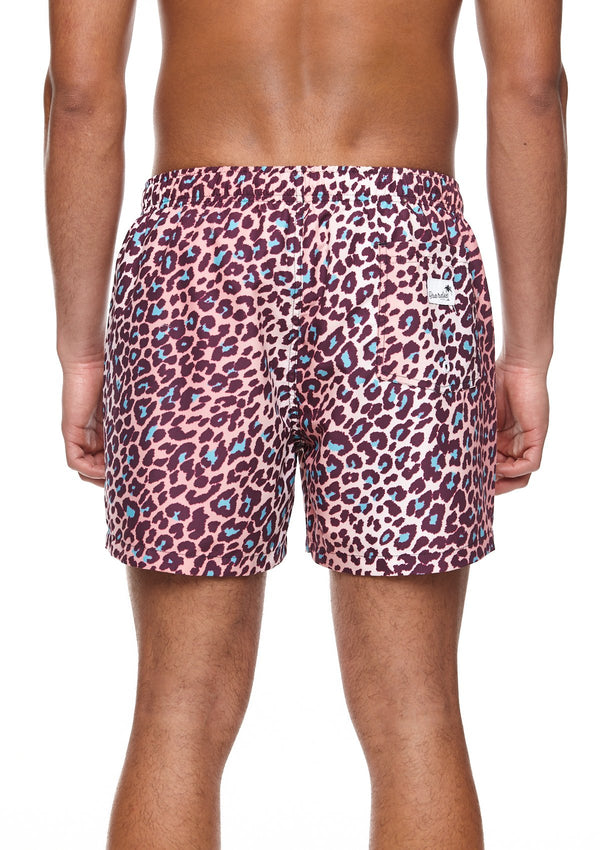 Boardies Leopard Mid length swim short