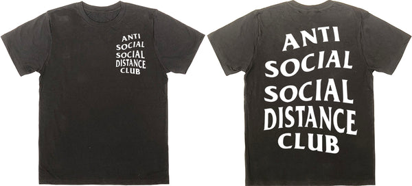 SOCIAL DISTANCE CLUB T-Shirt Black