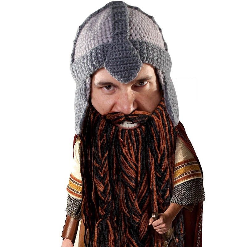 Barbarian Warrior (Brown/Black Beard)