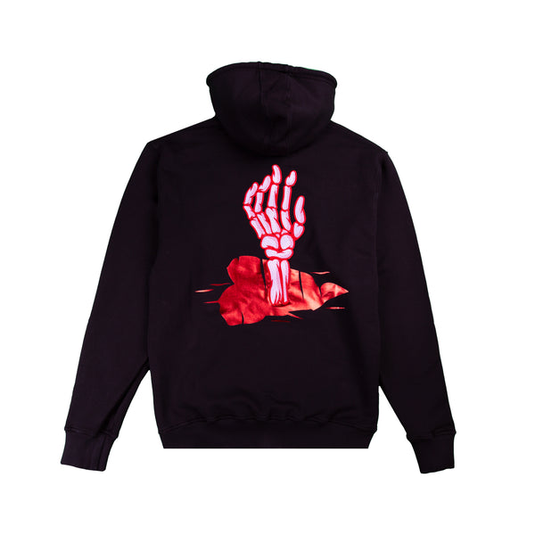 FALL IN LOVE SKULL HOODIE