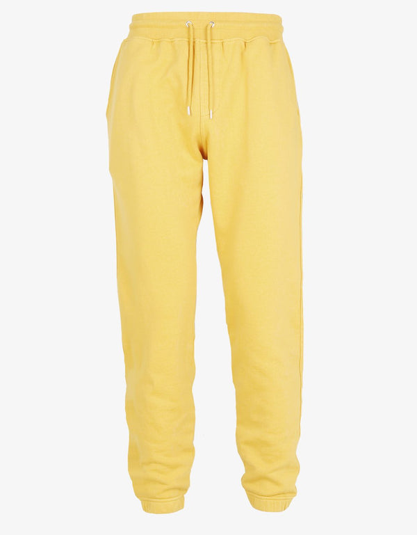 Classic Organic Sweatpants Lemon yellow