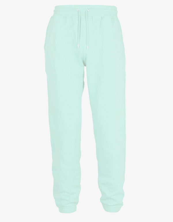 Classic Organic Sweatpants Light Aqua