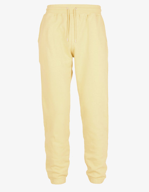 Classic Organic Sweatpants Soft yellow