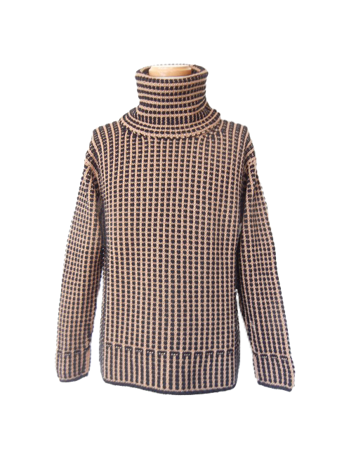 SWEATER MIXED CAMEL