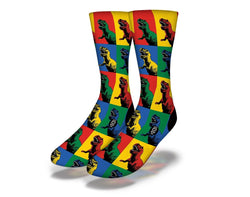 Dino Colored socks