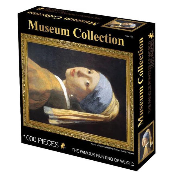 Pearl Earring Girl - 1000 pieces Jigsaw Puzzle