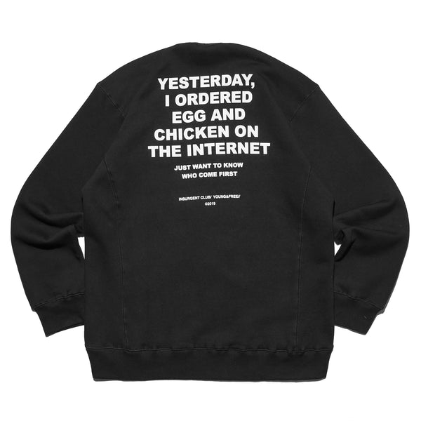 CREWNECK EGG OR CHICKEN