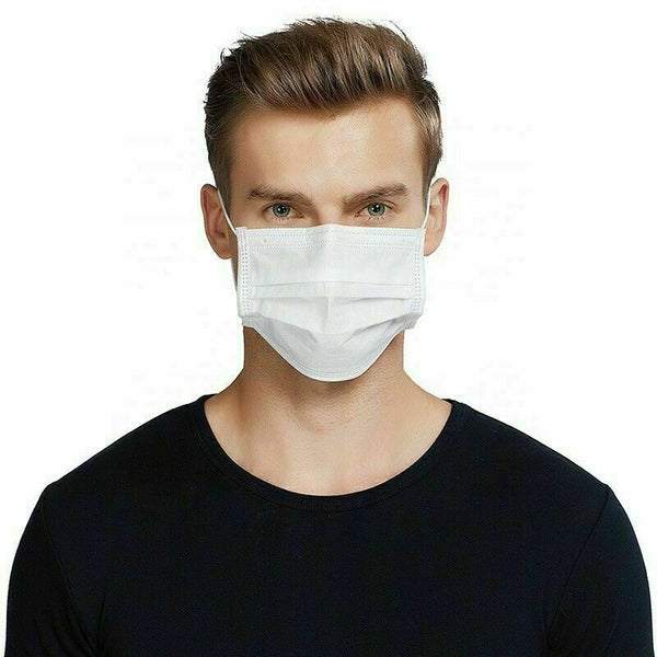 Adult Disposable Face Mask (Pack of 50)