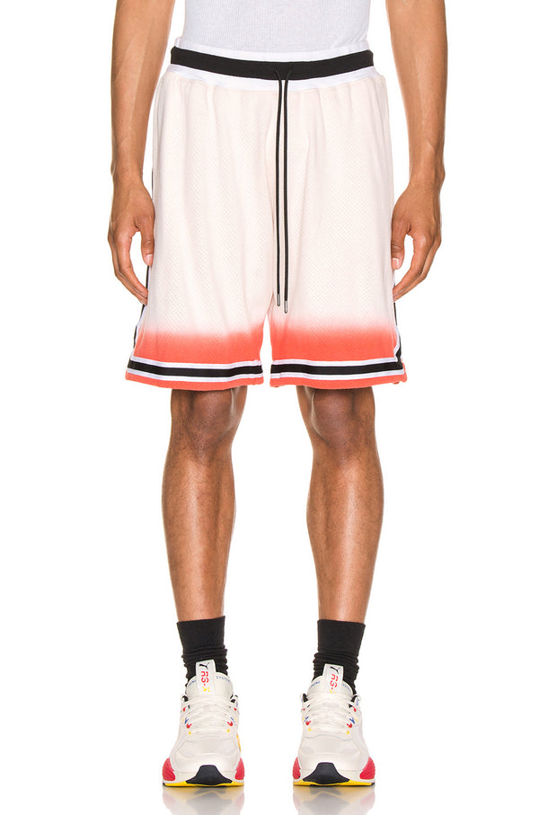 Dip dye basketball short