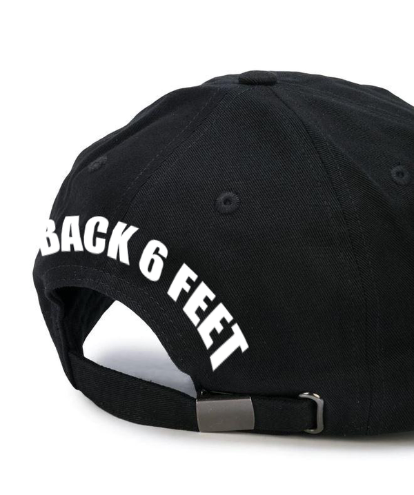 Keep back Cap BLACK