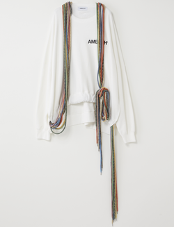 AMBUSH LONG MULTI CORD SWEATER