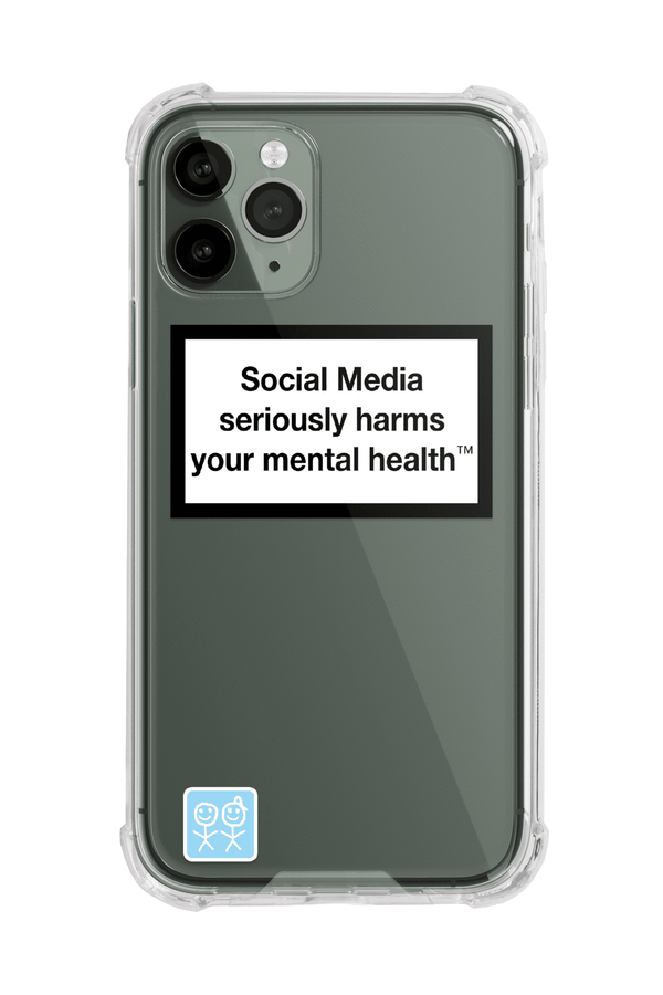 Mental Health Warning iPhone Case