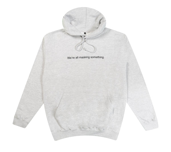 Sportgrey Hoodie - We're all masking