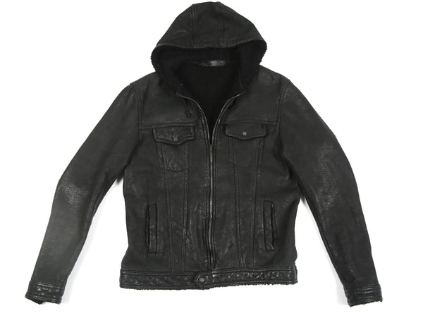 SANTORO SALVATORE LEATHER JACKET 33506-U