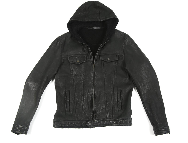 SANTORO SALVATORE LEATHER JACKET 1