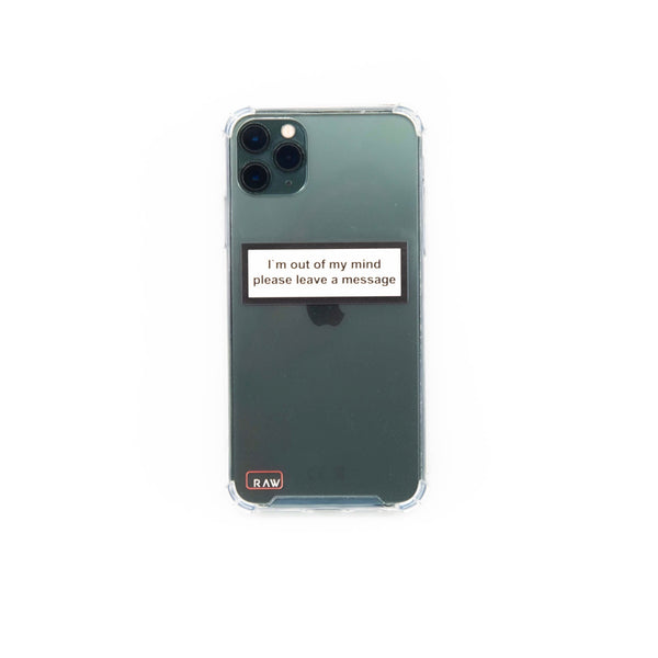 I'm out of my mind Iphone 11 Pro Case