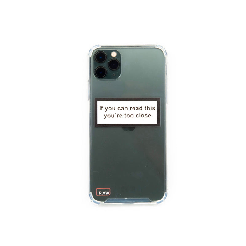 If you can read Iphone 11 Pro Case