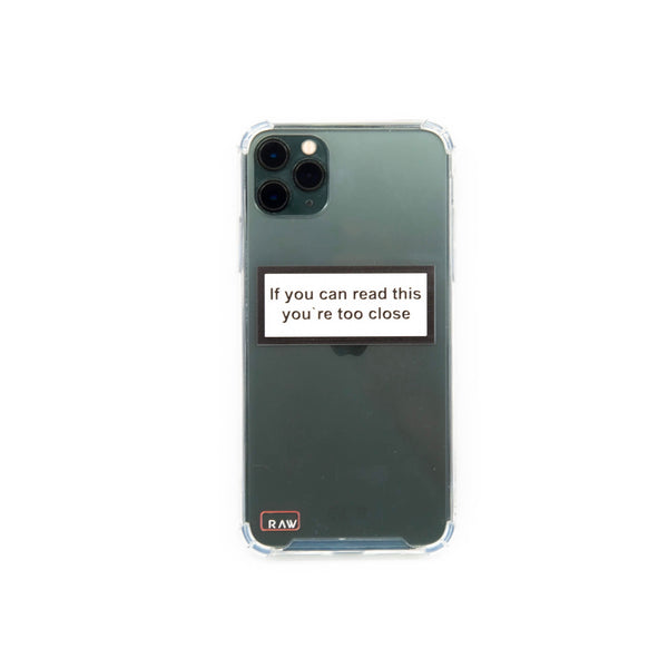 If you can read Iphone 11 Max Case