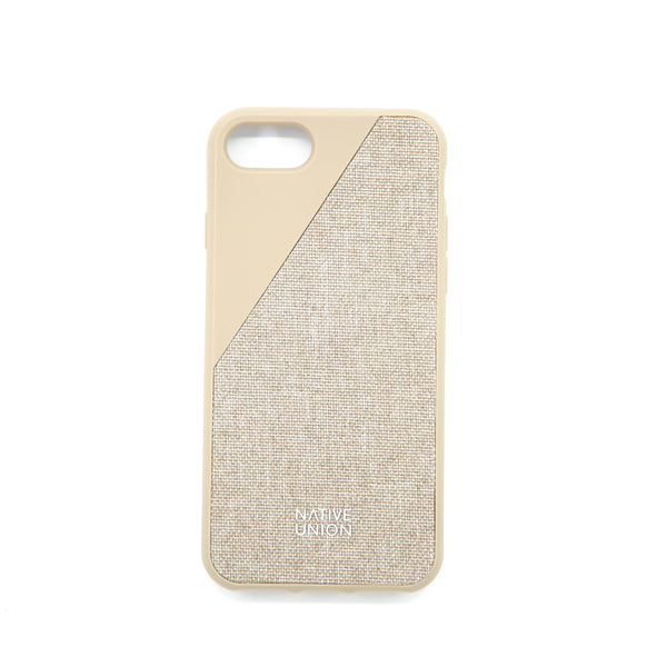 CLIC CANVAS-IPHONE 7 CASE-TAUPE