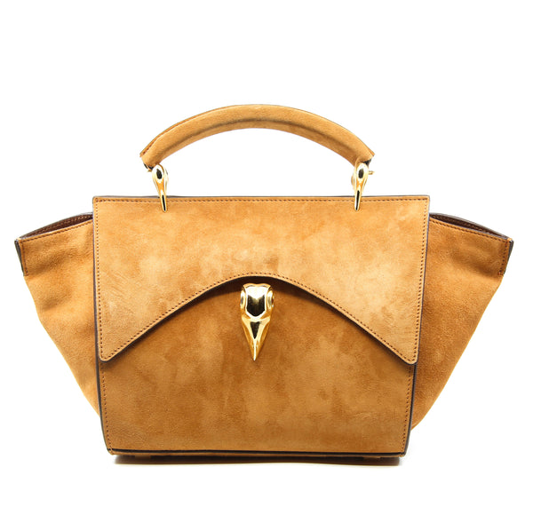 MINI VIER HONEY SUEDE  GOLD