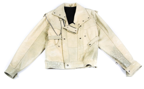 MARR LEATHER BIKER BOMBER