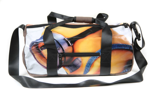 Duffel Orange (blue print)
