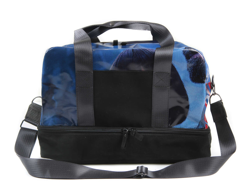 Weekender Navy (red white print)
