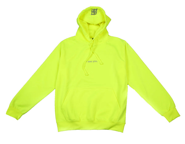 I see you Neon Hoodie