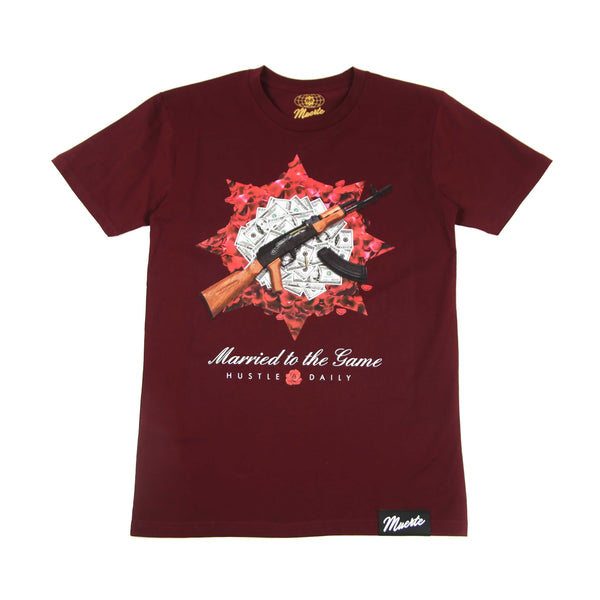 Ak rose pile T-shirt