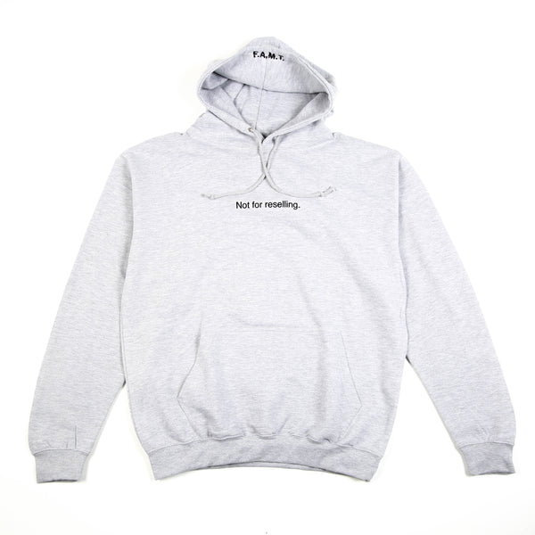 NOT FOR RESELLING HOODIE