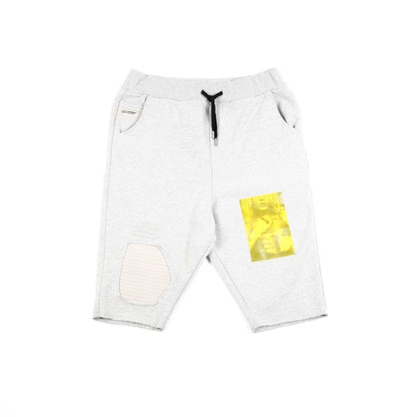 SWEAT YELLOW SHORT