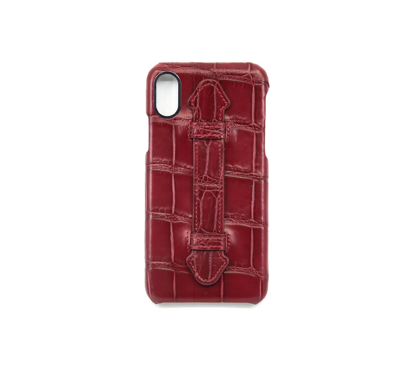 CUIR IPHONE X COVER LEATHER