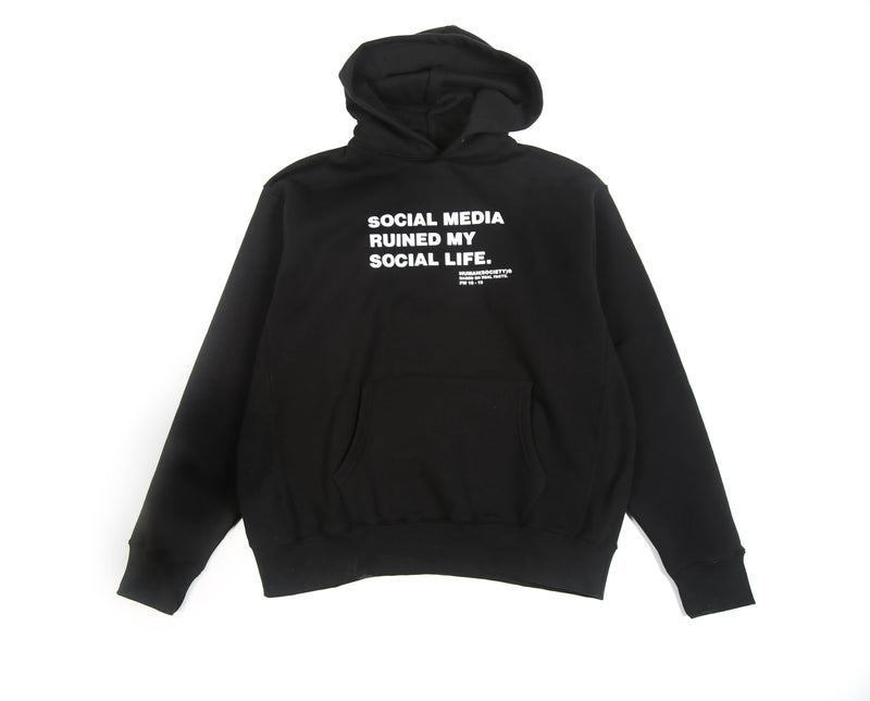 HUMAN SOCIETY SOCIAL MEDIA RUINED HOODIE