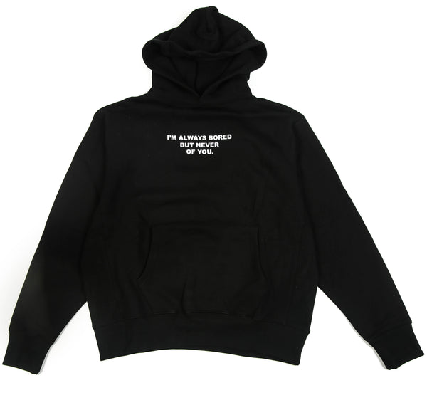HUMAN SOCIETY ALWAYS BORED HOODIE