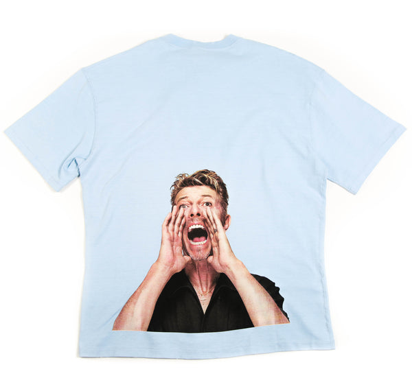 BOWIE SCREAM ON BACK T-SHIRT