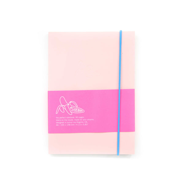 Pink blue band notebook