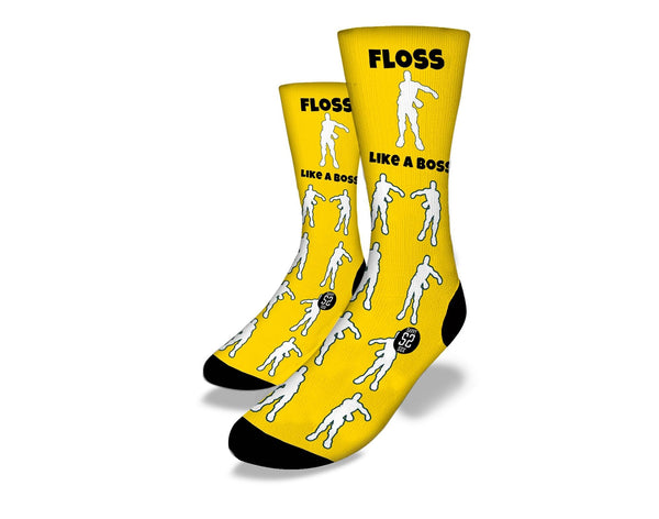 FLOSS LIKE A BOSS YELLOW