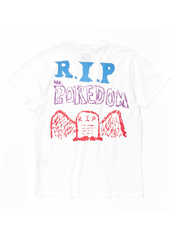 TE-01 RIP MR Boredom T-SHIRT