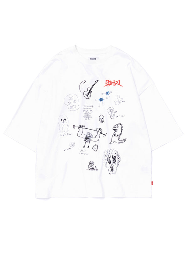 TO-31 Scribbles T-SHIRT