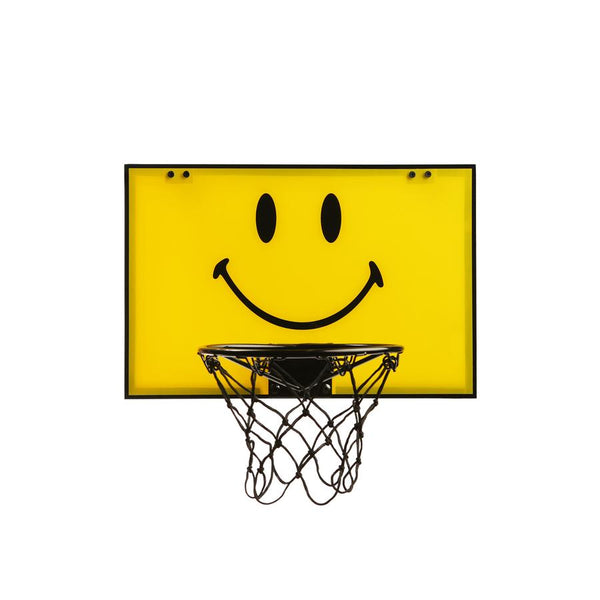 Smiley mini basketball hoop