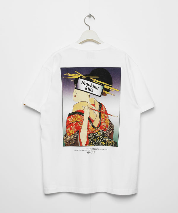 UKIYOE SMOKING KILLS T-SHIRT