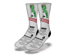Wanted Alien socks