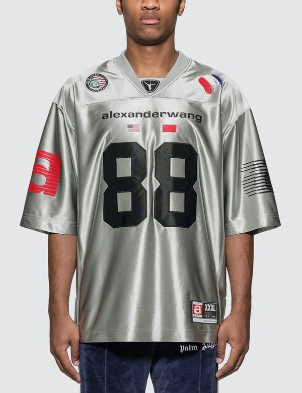 High Shine Football Jersey