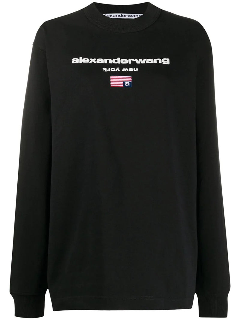 LONG SLEEVE LOGO GRAPHICTEE
