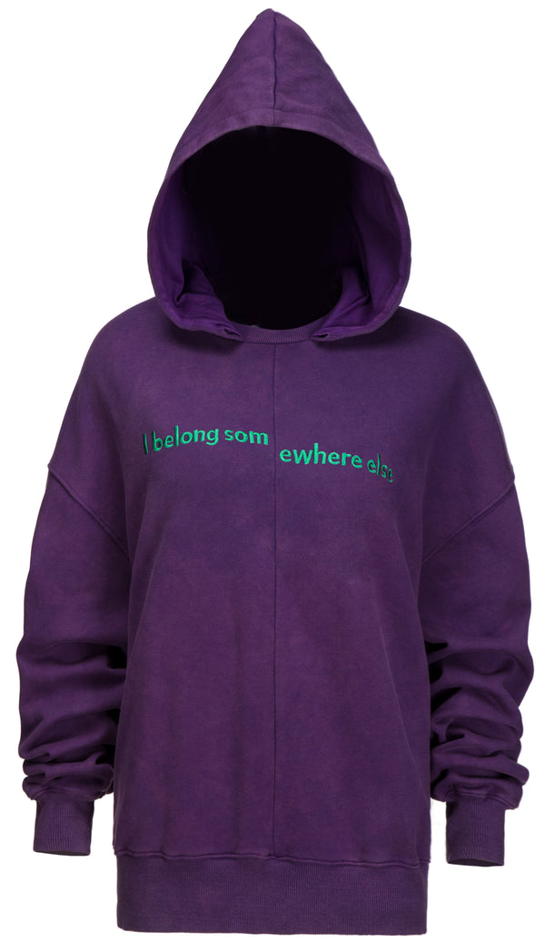 I Belong some Purple Hoodie