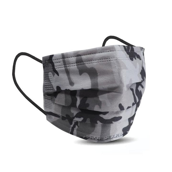 PSL 4-Ply Protective Mask: Camo Series - GREY (Pack of 10)