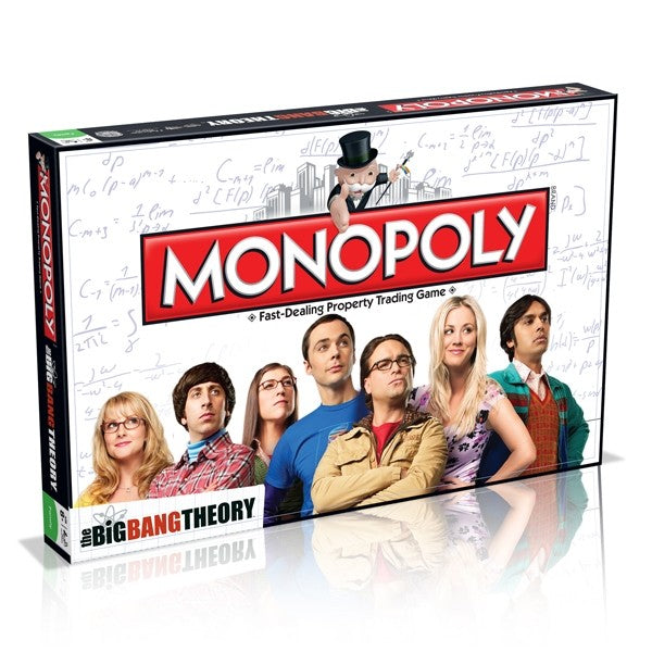 Monopoly The Big Bang Theory Edition Board Game